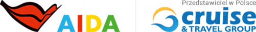 Logo Cruise Travel Group - przedstawiciel Aida