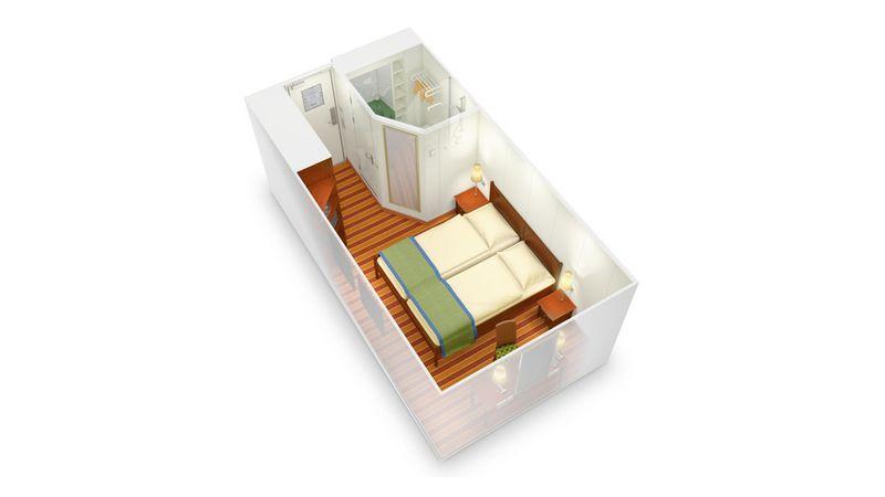 AIDAaura kabina wewnętrzna