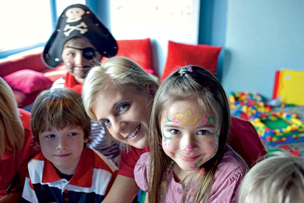 AIDAcara sala zabaw dla dzieci