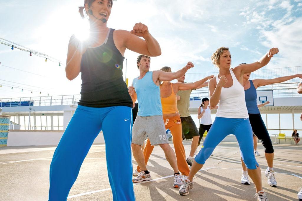 AIDAdiva fitness