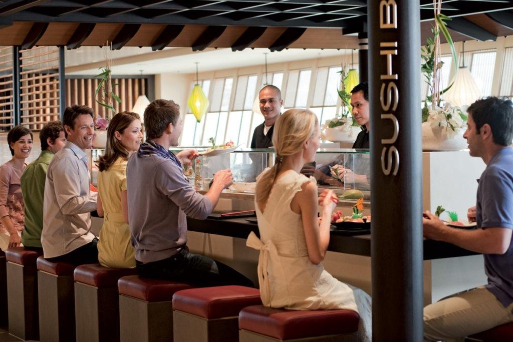 AIDAmar bar Sushi