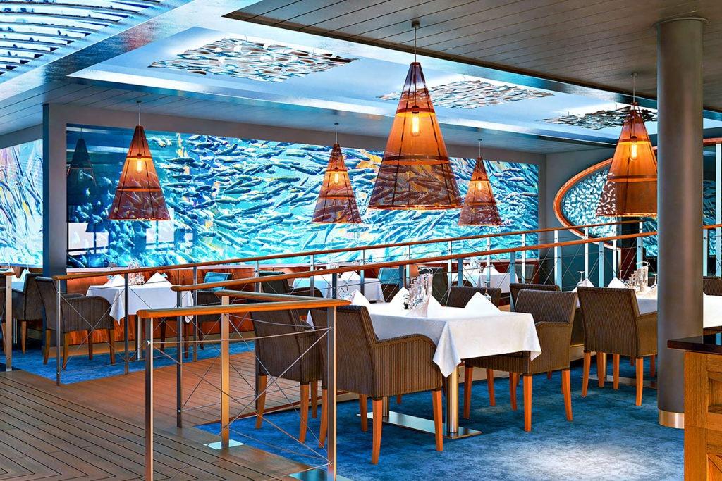 AIDAnova restauracja Ocean's