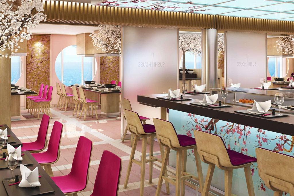 AIDAnova restauracja Sushi House