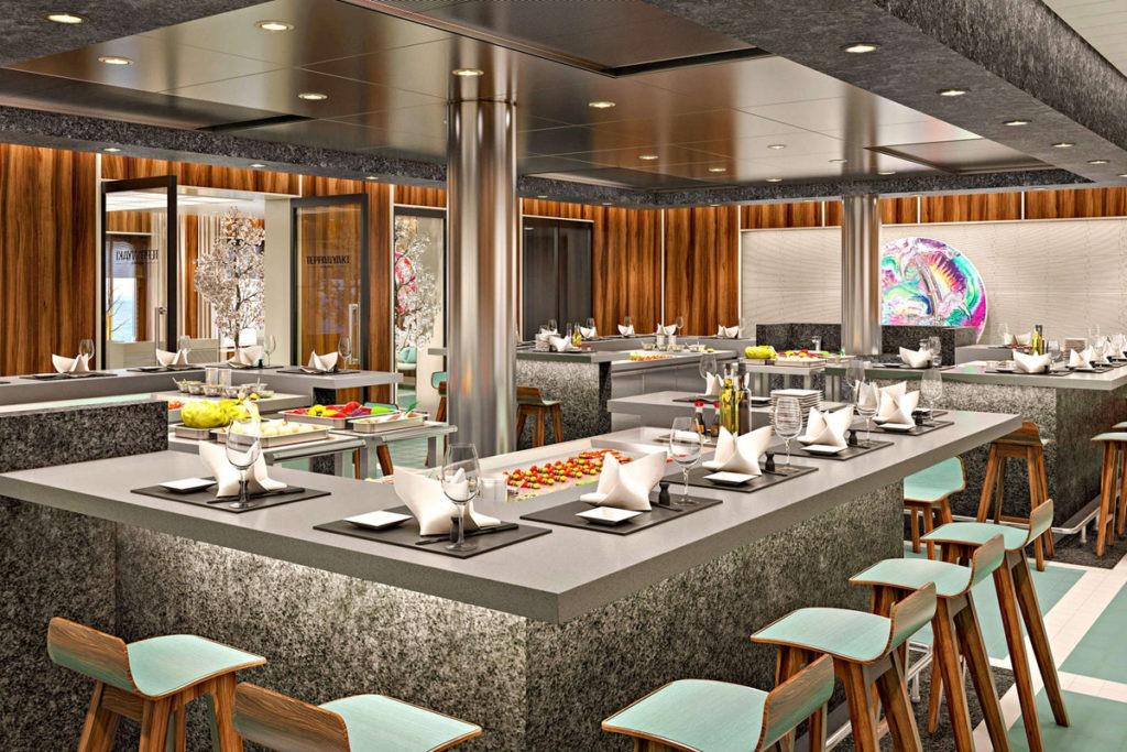 AIDAnova restauracja Teppanyaki Grill Asia