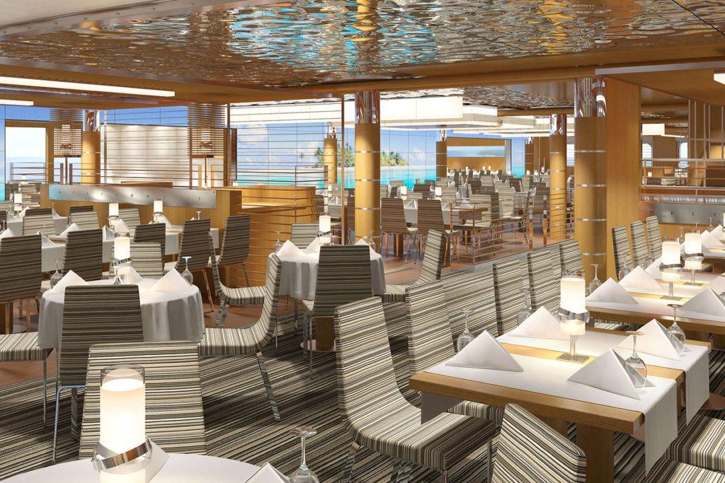 AIDAnova restauracja Yachtclub