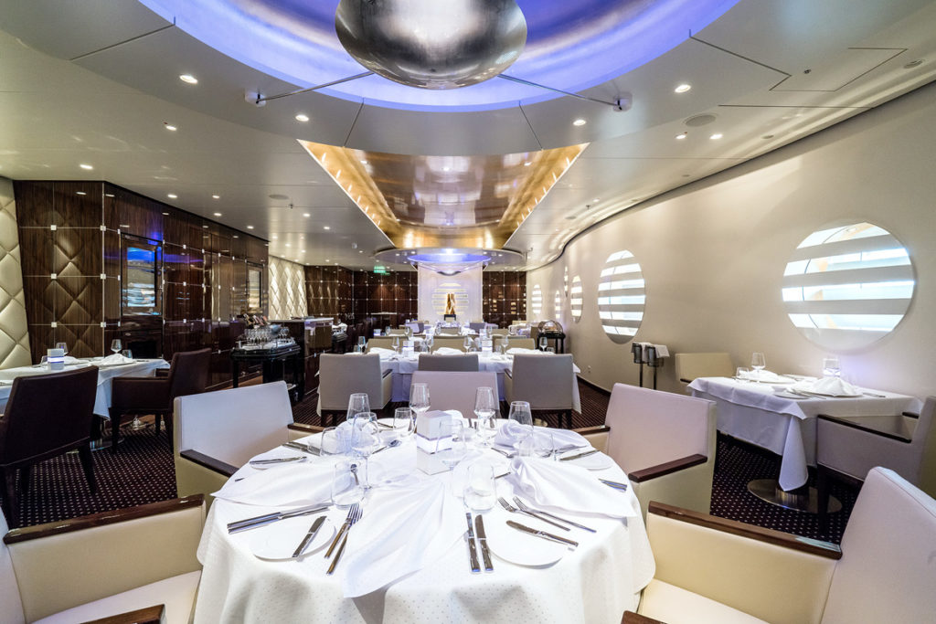 AIDAperla restauracja Rossini