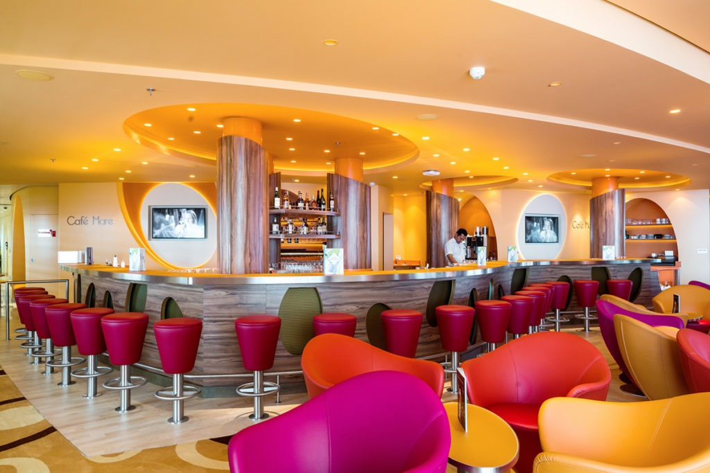 AIDAprima kawiarnia Cafe Mare
