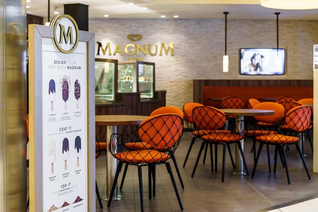 AIDAprima lodziarnia Magnum