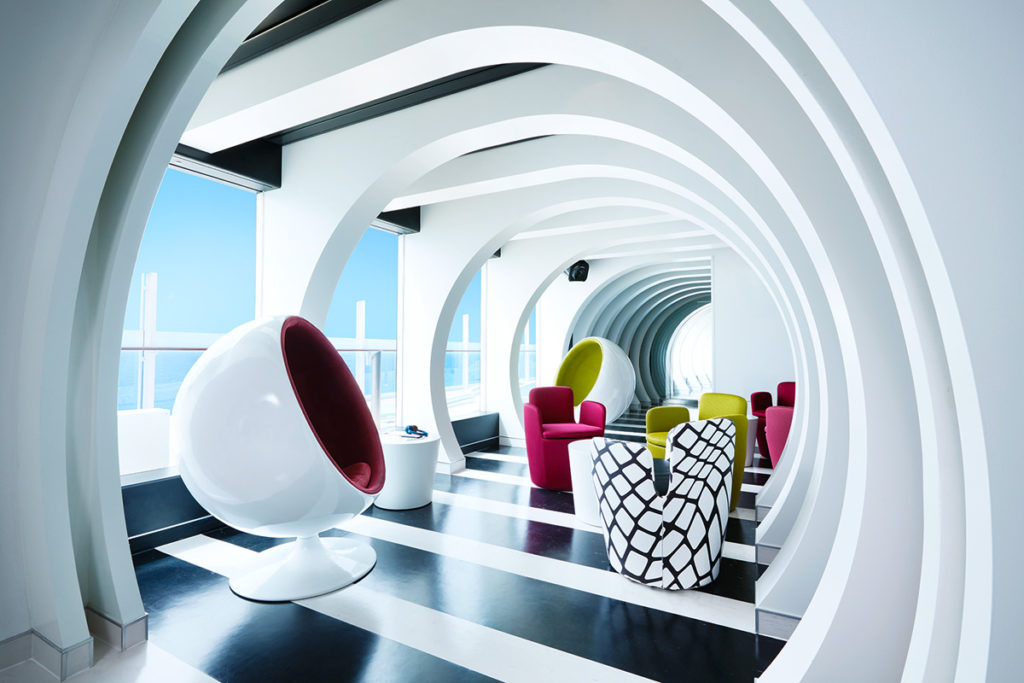 AIDAprima lounge dla nastolatków