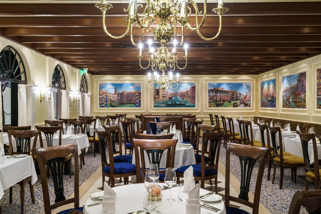 AIDAprima restauracja Casa Nova