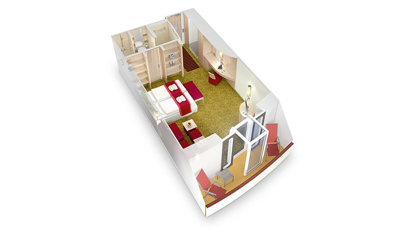 aidabella kabina junior suite plan