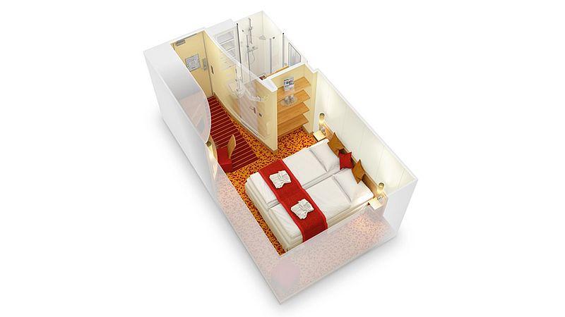 aidabella kabina wewnętrzna plan