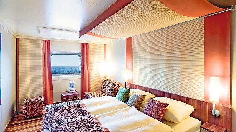 aidabella kabina zewnętrzna z oknem