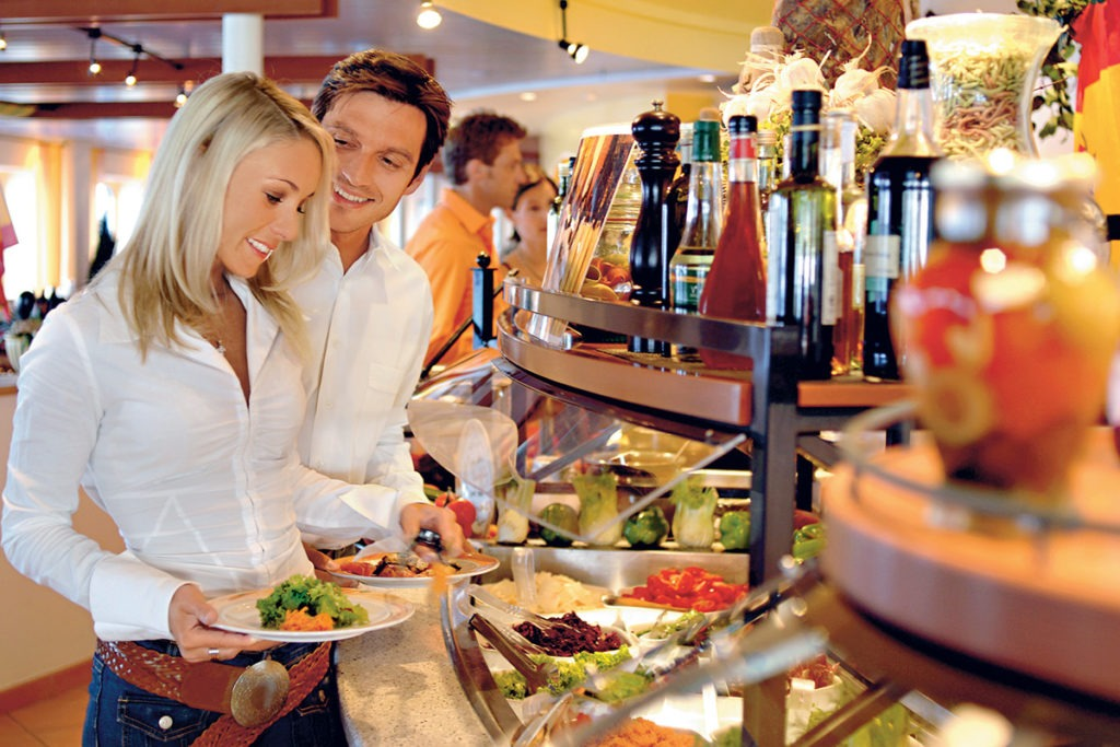AIDAaura restauracja Markt