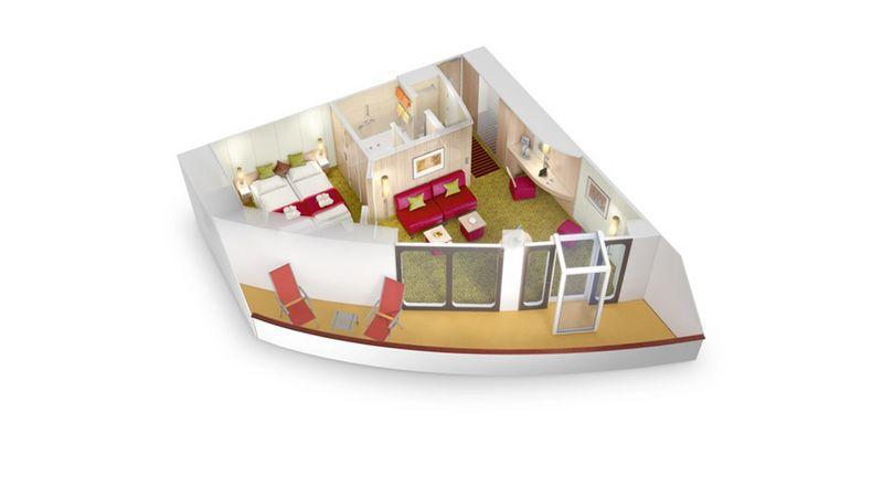 AIDAluna Premium Suite