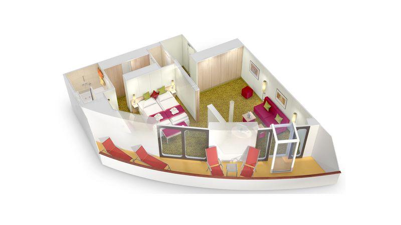 AIDAmar Deluxe Suite