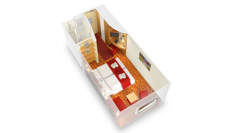 AIDAmar kabina z oknem