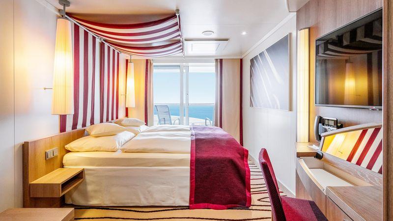 AIDAperla kabina z balkonem