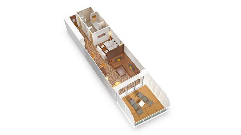 AIDAprima Junior Suite
