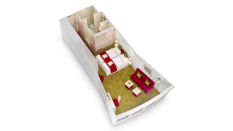 AIDAsol Panorama Suite