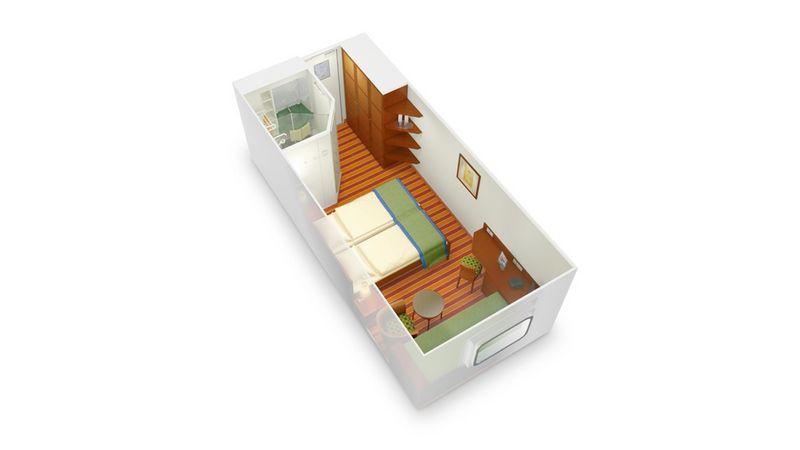 AIDAvita kabina z oknem