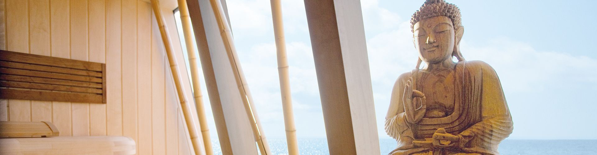 Sauny z widokiem na morze