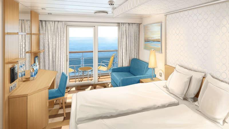 AIDAmira kabina z balkonem