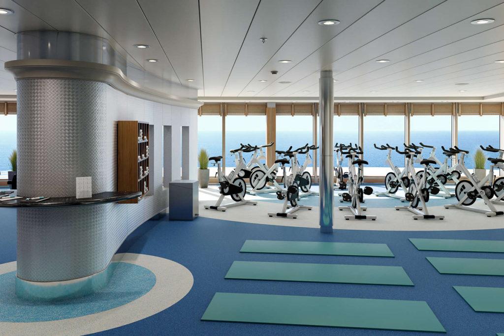 Fitness center - AIDAmira