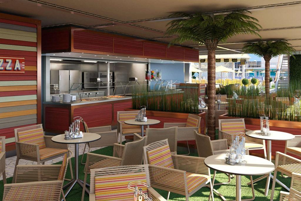 Restauracja Pool Grill - AIDAmira