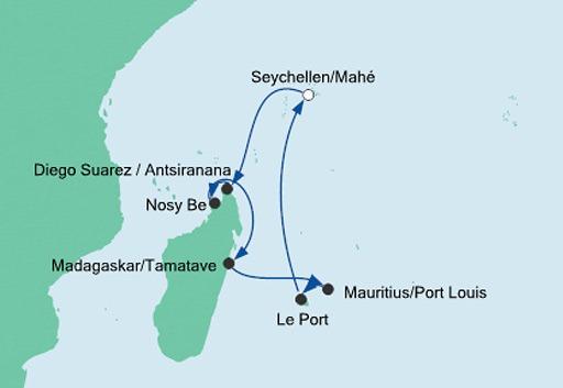 Mauritius Seszele I Madagaskar 3 Aida Rejsy Aida Rejsy