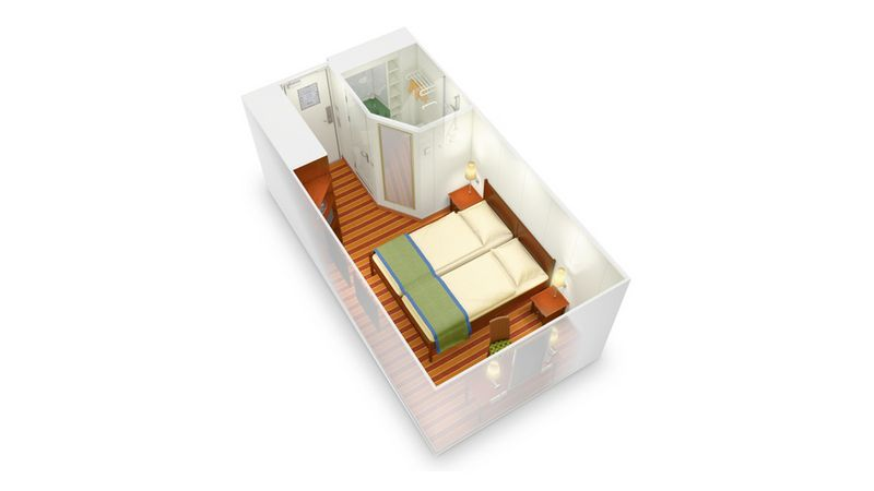 AIDAvita kabina wewnętrzna