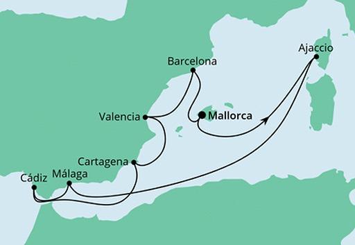 mama AIDAstella rejs Hiszpania i Korsyka