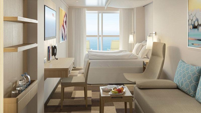 AIDAcosma kabina z balkonem Komfort