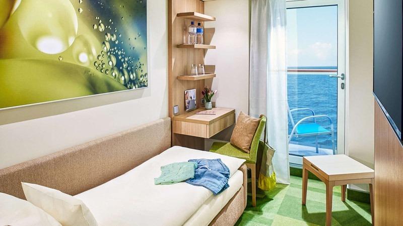 AIDAcosma kabina jednoosobowa z balkonem