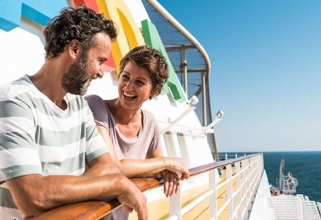 Para na pokładzie